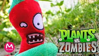 Plants vs Zombies Plush Toys - PART 1 | MOO Toy Story