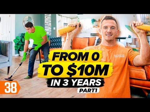 How To Start A $62,000 Per Month Cleaning Business From Scratch (Pt. 1)