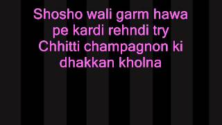 Punjabi Wedding Song Lyrics   hasee toh phasee lyrics