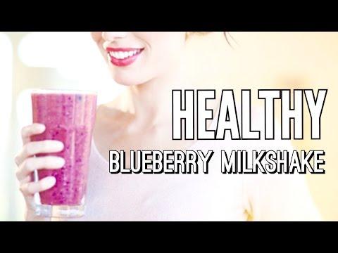 Delicious Blueberry Milkshake Recipe (Healthy & Quick)