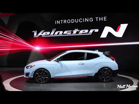 2019 Hyundai Veloster N and Veloster Turbo Close Up Look NAIAS 2018