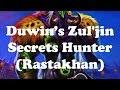 Hearthstone [WILD] Duwin's Rastakhan Zul'jin Secrets Hunter - never drawing Zul'jin... (1080p)