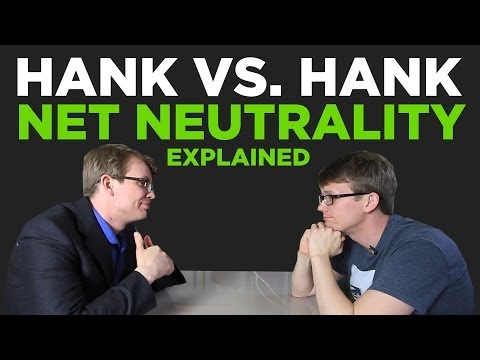 Hank vs. Hank: The Net Neutrality Debate in 3 Minutes