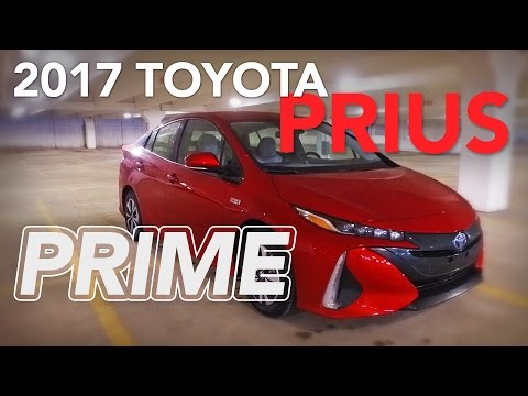 2017 Toyota Prius Prime Plug-In Review