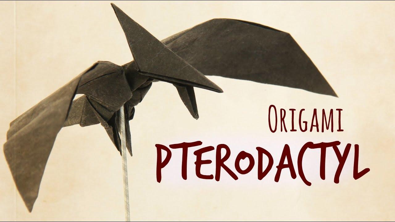 How To Make An Origami Pterodactyl Tadashi Mori