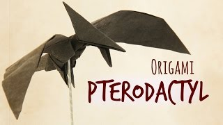 How to make an origami Pterodactyl (Tadashi Mori)