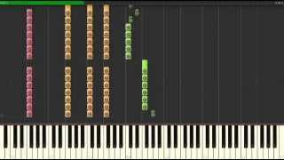 Atwa — System Of A Down, How To Play on Piano  Synthesia Tutorial