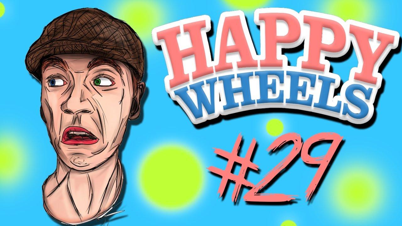 Happy wheels part 29 i don 39 t like earthquakes - Let s play happy wheels ...