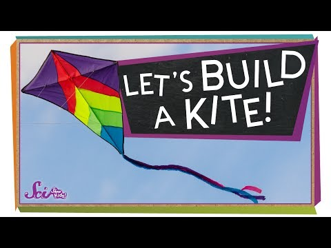 Let's Make a Kite! | Science Project for Kids