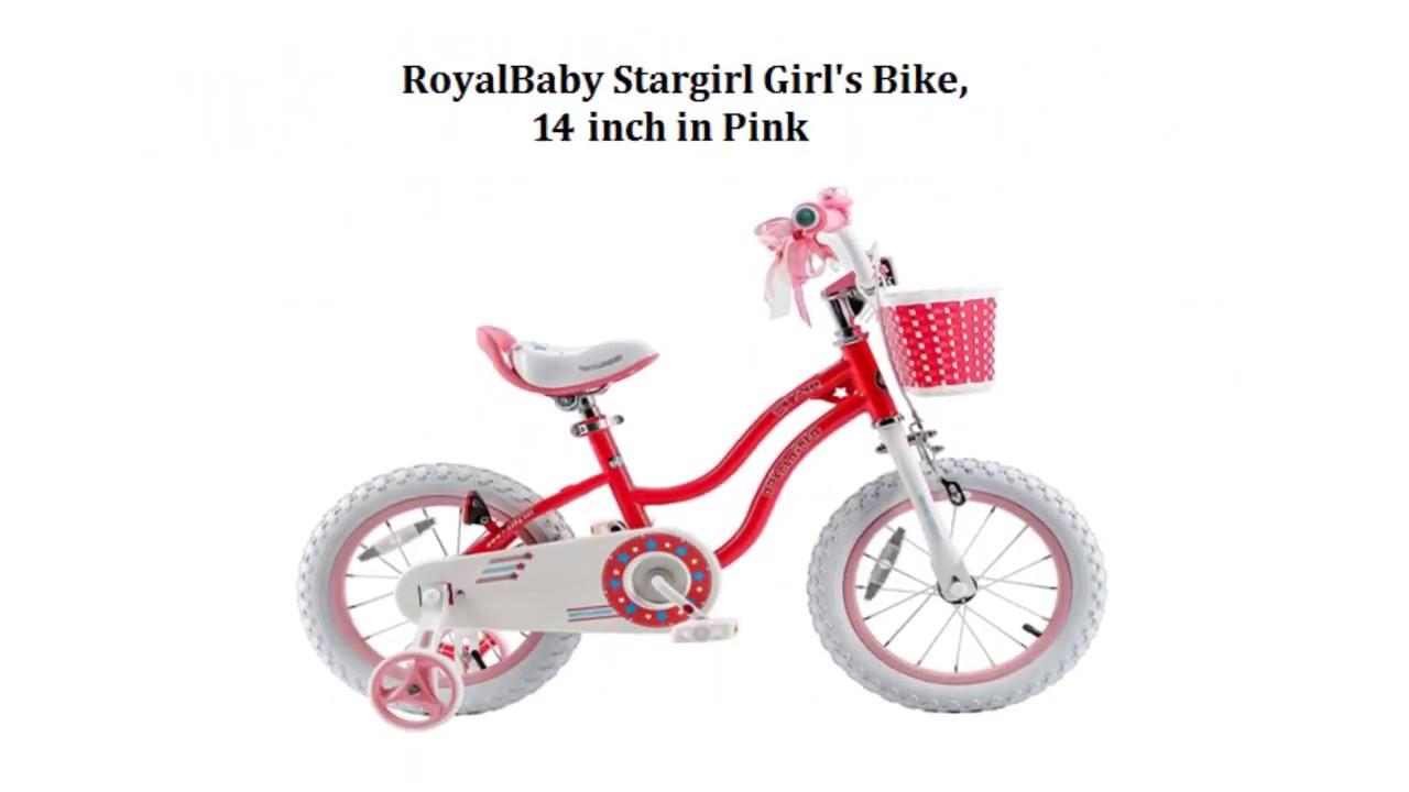 48903e7c6793 RoyalBaby Stargirl BMX Girl's Bike 14 inch Pink - Best Kids Ride on Toys