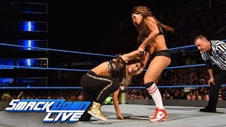 Nikki Bella & Naomi vs. Natalya & Carmella: SmackDown LIVE, 27. September 2016