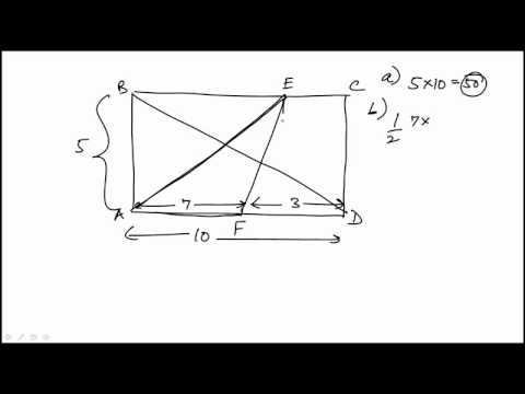 Geometry Problem 10 REVISED GRE MATH REVIEW OFFICIAL GUIDE