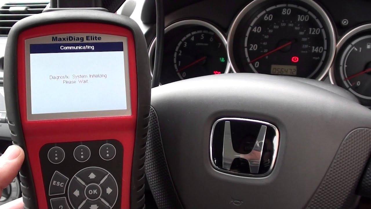 SRS airbag system warning light