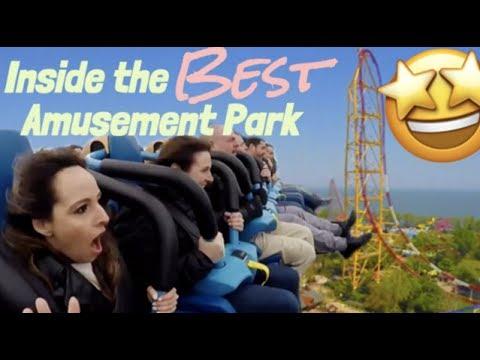 INSIDE America's BEST Amusement Park (Cedar Point)