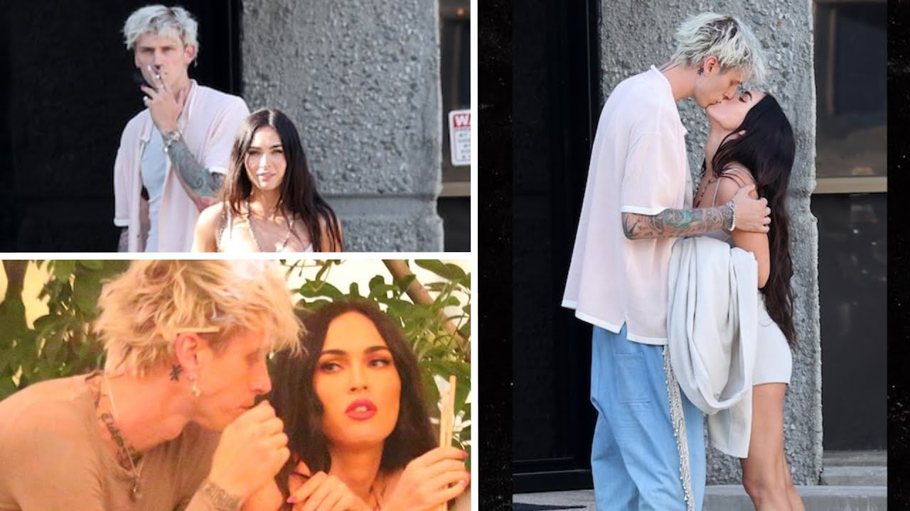 Machine Gun Kelly And Megan Fox Got A Ticket For Breaking Traffic Rules, And Then Followed The PDA