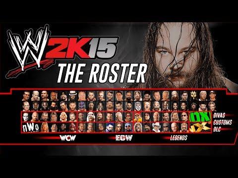 WWE 2K15 Roster Concept (WWE, WCW, NWO, ECW, NXT, DX & DIVAS)