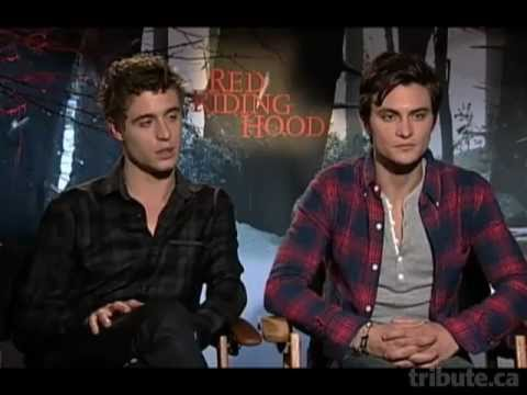 Max Irons and Shiloh Fernandez - Red Riding Hood Interview