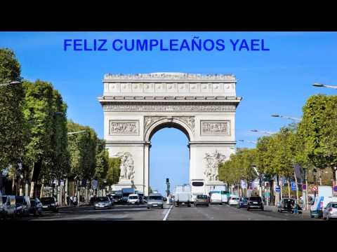 Yael   Landmarks & Lugares Famosos - Happy Birthday