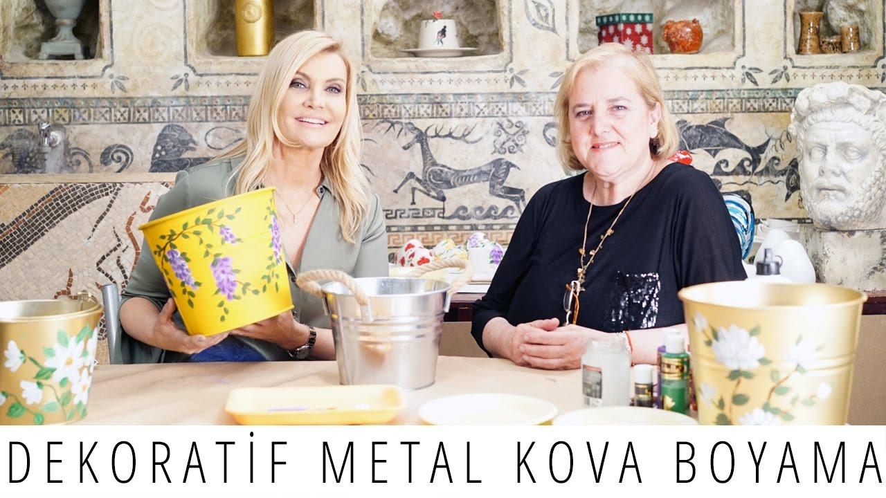 Dekoratif Metal Kova Galnaviz Boyamasüsleme Nasıl Yapılır Derya