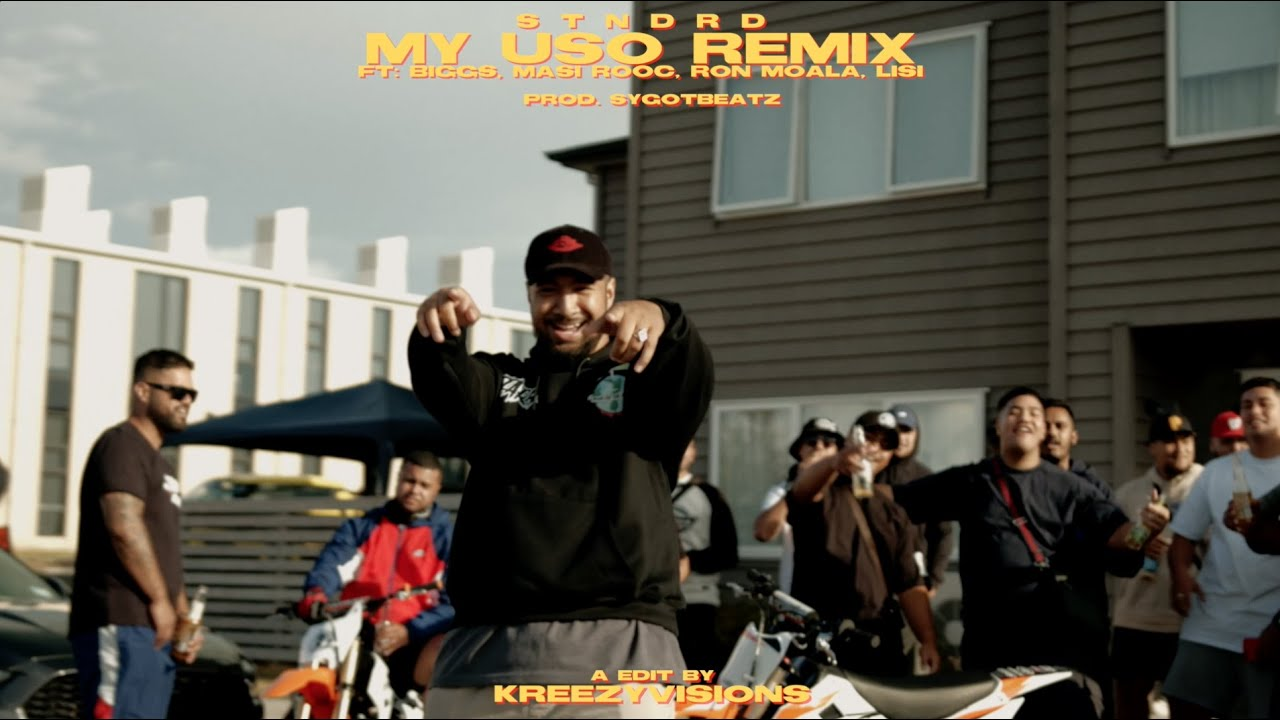 Download STNDRD - My Uso (Remix) ft. Masi Rooc, Lisi, Biggs & Ron Moala (Official Music Video)