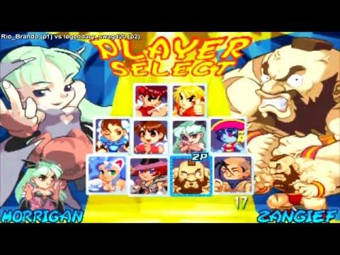 Super Gem Fighter Mini Mix - Rio Brando (Usa) vs legendary swag420 (Porto Rico)