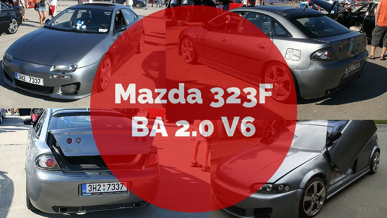 mazda 323f ba 2 0 v6 from stock to madness tuning of my. Black Bedroom Furniture Sets. Home Design Ideas