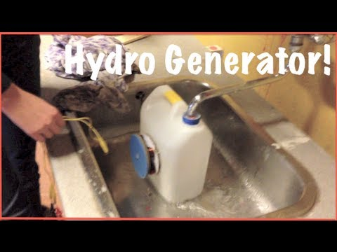 How To Build A Hydro Generator English Step By Step