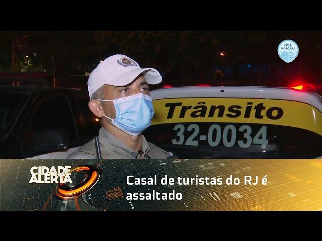 Casal de turistas do RJ é assaltado na praia de Riacho Doce