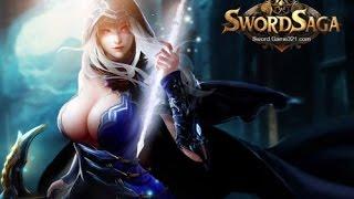 Sword Saga (Путь Меча)  trailer Видео обзор бесплатной браузерной онлайн игры