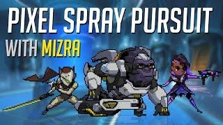 OVERWATCH Pixel Spray Pursuit - Genji/Winston/Sombra