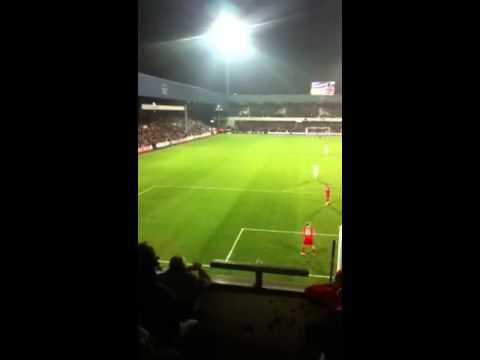 QPR Danny gabbidon goal QPR v MK DONS