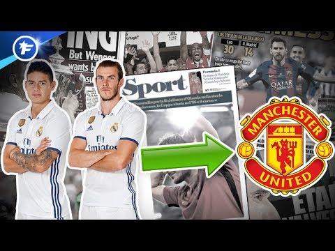 Manchester United veut piller le Real Madrid   Revue de presse