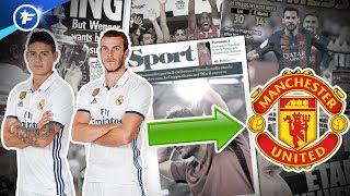 Manchester United veut piller le Real Madrid | Revue de presse