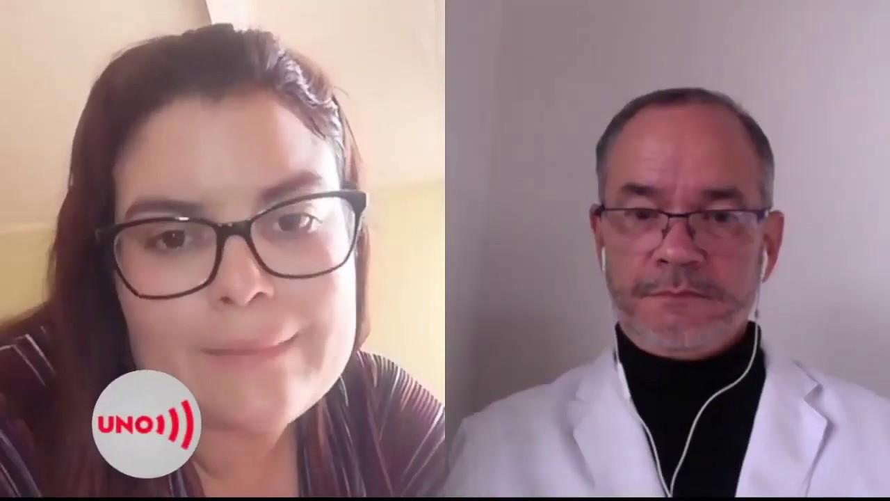 Noticias Uno entrevistó a médico que experimenta con dióxido de cloro en pacientes, en Bogotá