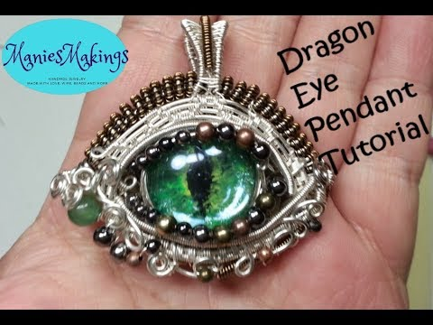 Dragon Eye Wire Wrap Tutorial Create With Me Youtube