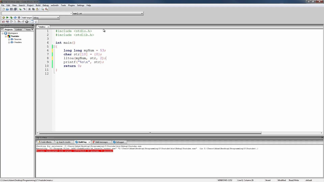 C programming tutorial 74 converting ints and floats to strings c programming tutorial 74 converting ints and floats to strings baditri Gallery