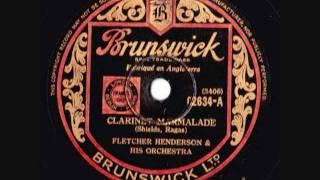 Fletcher Henderson & his Orchestra - Clarinet Marmalade - 1926
