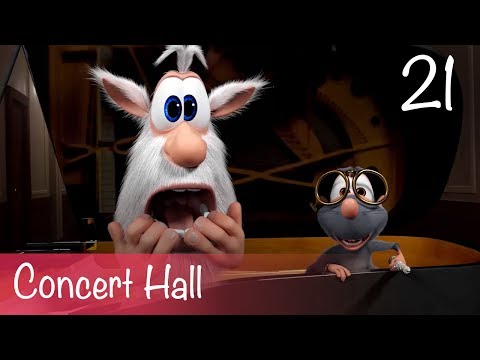 Booba - Concert Hall - Episode 21 - Буба - Cartoon for kids