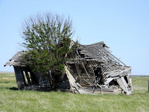 The ghost town of Grainola, Oklahoma