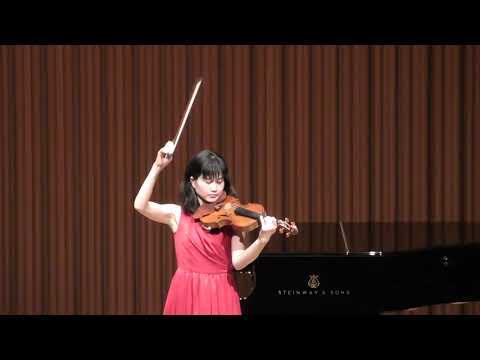 Julius Röntgen:Phantasie for Violin Solo / Atsuko Sahara ユリウス・レントヘン:無伴奏ヴァイオリンのためのファンタジー 佐原敦子