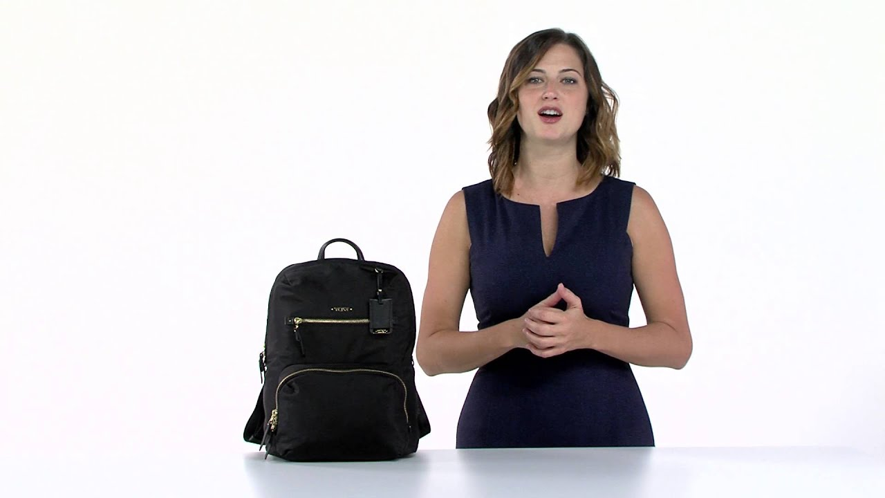 Tumi Sheppard Alpha Bravo Backpack Review - YouTube