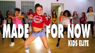 Janet Jackson x Daddy Yankee - Made For Now | Kids Street Dance | Choreography Sabrina Lonis