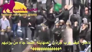الصهاينة في باريس يكسرون ويسبون فلسطين