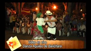 Video en vivo, Danza Aquileo de Barichara, miércoles 20 de noviembre 2013