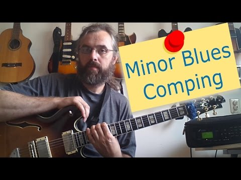 Minor Blues Comping
