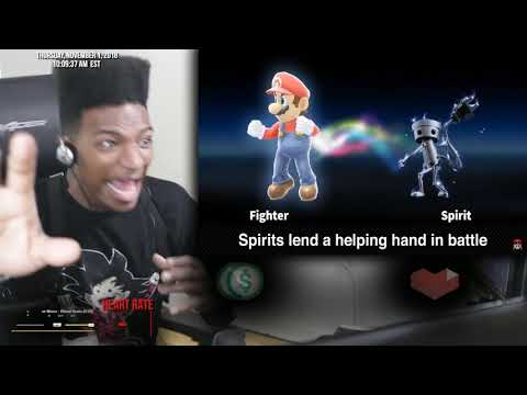 Etika Reacts To Super Smash Bros. Ultimate Direct 11.1.2018 REACTION thumbnail