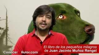 """""""El libro de los  pequenos milagros"""" de Juan Jacinto Muñoz Rengel (Páginas de Espuma)"""