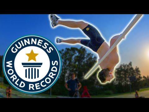 WORLD RECORD Highest Backflip!