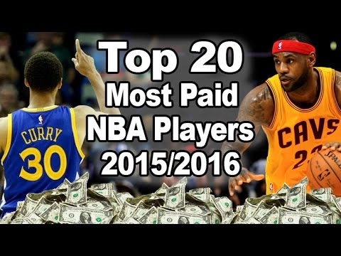 Top 20 Highest Paid NBA Players (2015/2016) - BaldurNBA