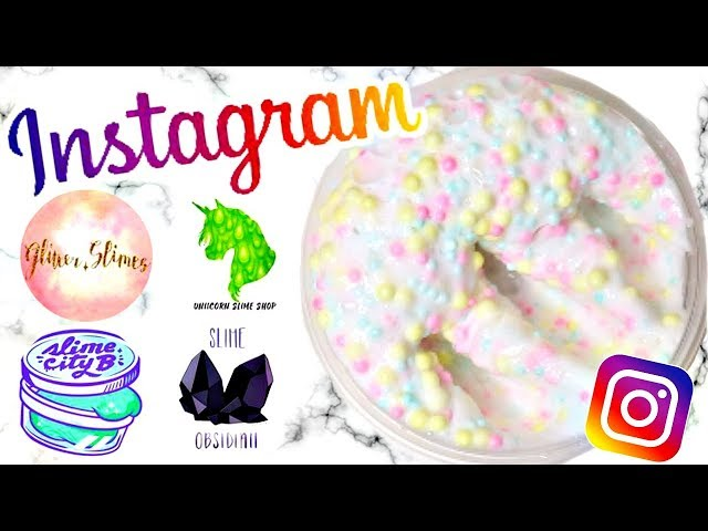 RECREATING FAMOUS INSTAGRAM SLIME SHOP RECIPES!